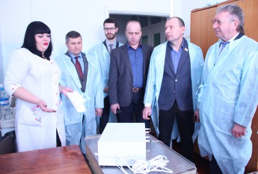 DTEK Oil&Gas continued modernization of Shyshatska central hospital